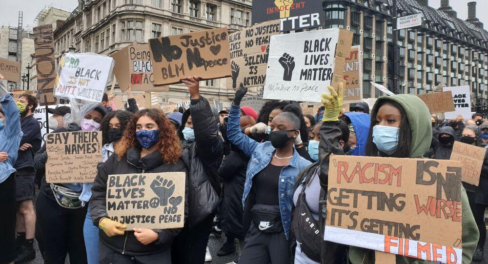 Las protestas del movimiento Black Lives Matter en Londres