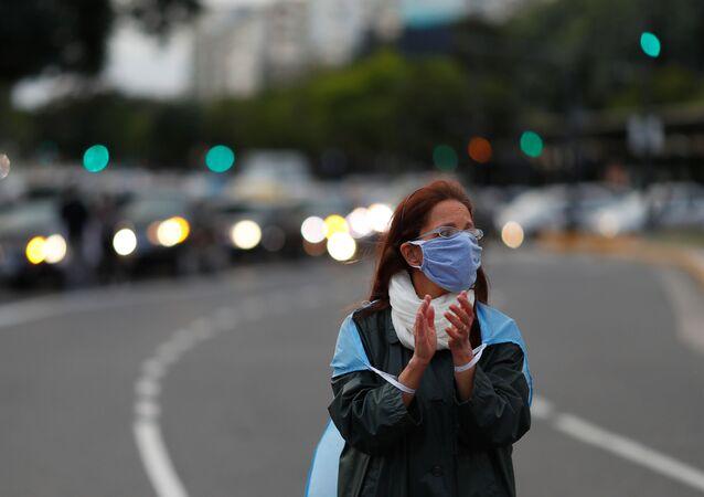 Propagación de coronavirus en Argentina
