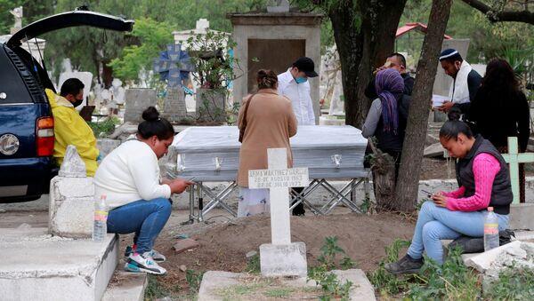 La situación en cementerios mexicanos - Sputnik Mundo