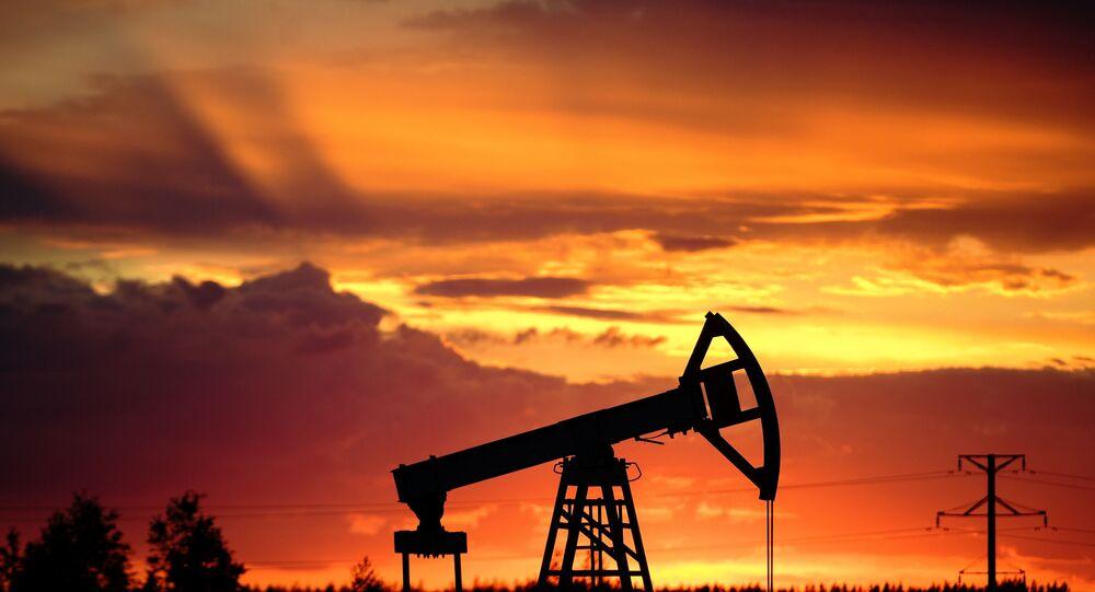 La bomba de um pozos petroleros en Rusia