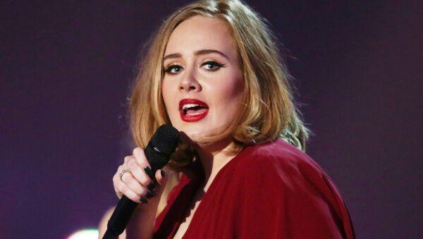 Adele, cantante británica (archivo) - Sputnik Mundo