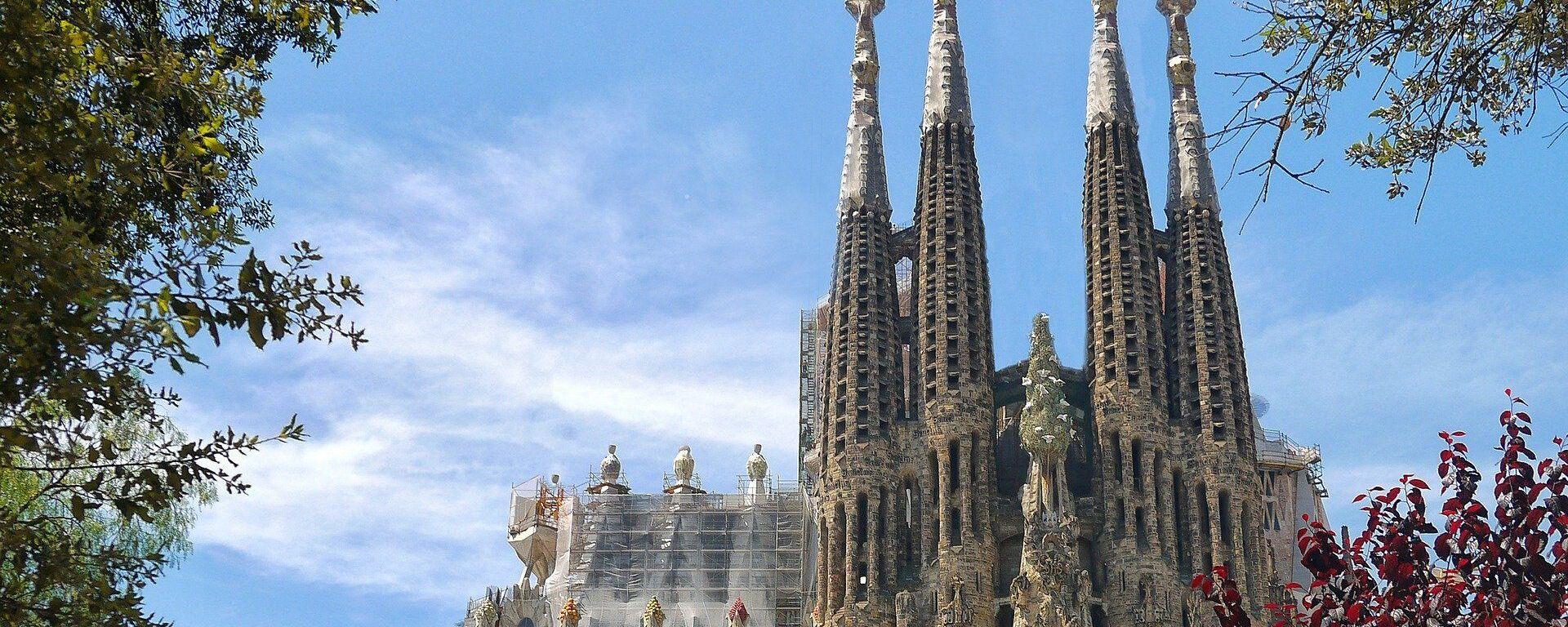 La Sagrada Familia de Barcelona - Sputnik Mundo, 1920, 30.05.2021