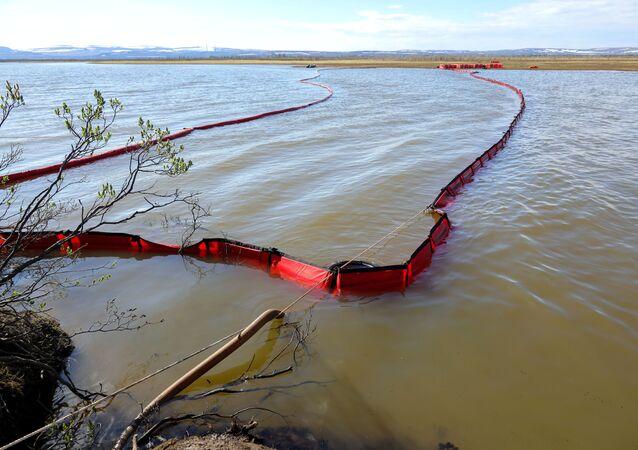 Derrame de combustible en Norilsk