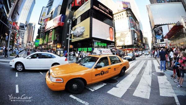 Times Square en Nueva York, EEUU (archivo) - Sputnik Mundo