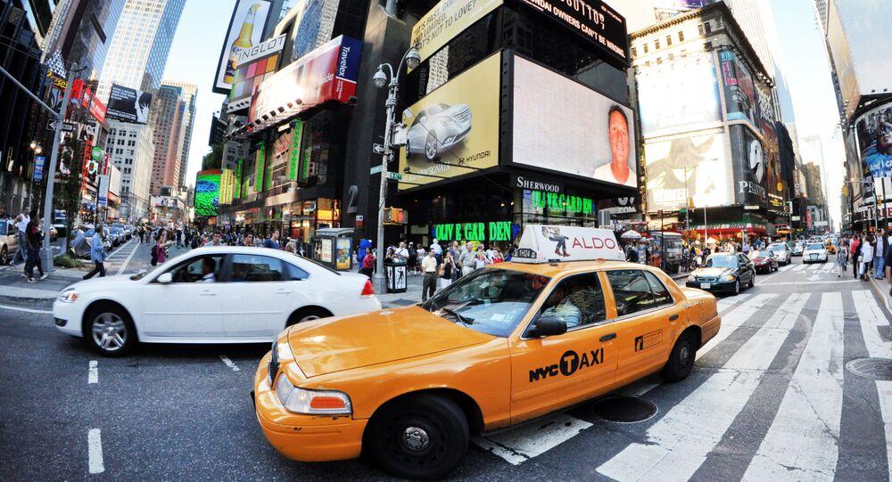 Times Square en Nueva York, EEUU (archivo)
