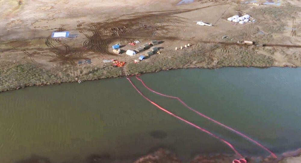 Consecuencias del derrame de combustible en la ciudad rusa de Norilsk