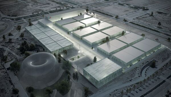 Simulación del hospital de emergencia anunciado para Madrid. - Sputnik Mundo