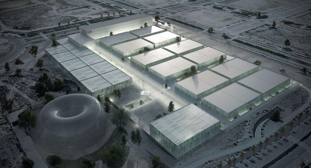 Simulación del hospital de emergencia anunciado para Madrid