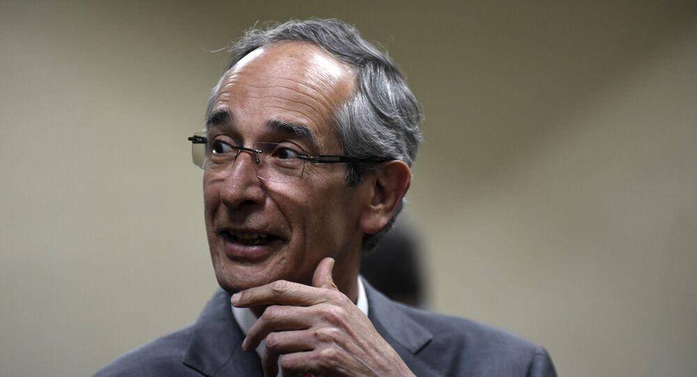 Álvaro Colom Caballeros,  expresidente guatemalteco