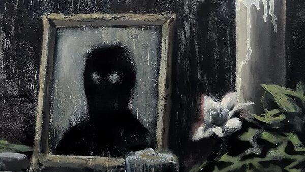 La pintura de Banksy - Sputnik Mundo