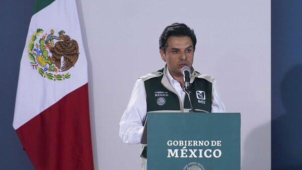 El director del Instituto Mexicano del Seguro Social (IMSS), Zoe Robledo - Sputnik Mundo
