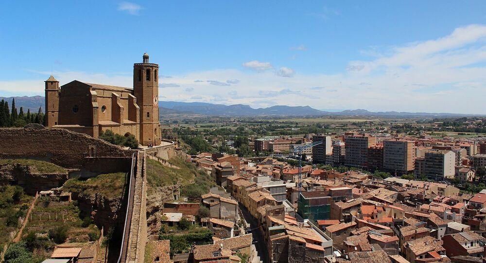 Vista de Balaguer (Lleida), lugar de la fiesta