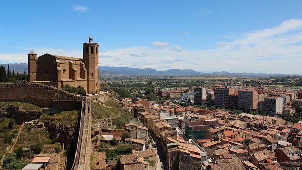 Vista de Balaguer (Lleida), lugar de la fiesta - Sputnik Mundo