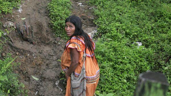 Una indígena Guaymi en Costa Rica (archivo) - Sputnik Mundo
