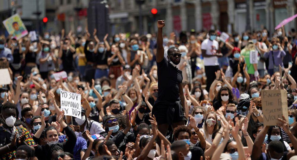 Manifestaciones de protesta contra el racismo en EEUU