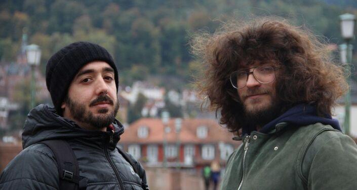 Federico Borgia y Guillermo Madeiro