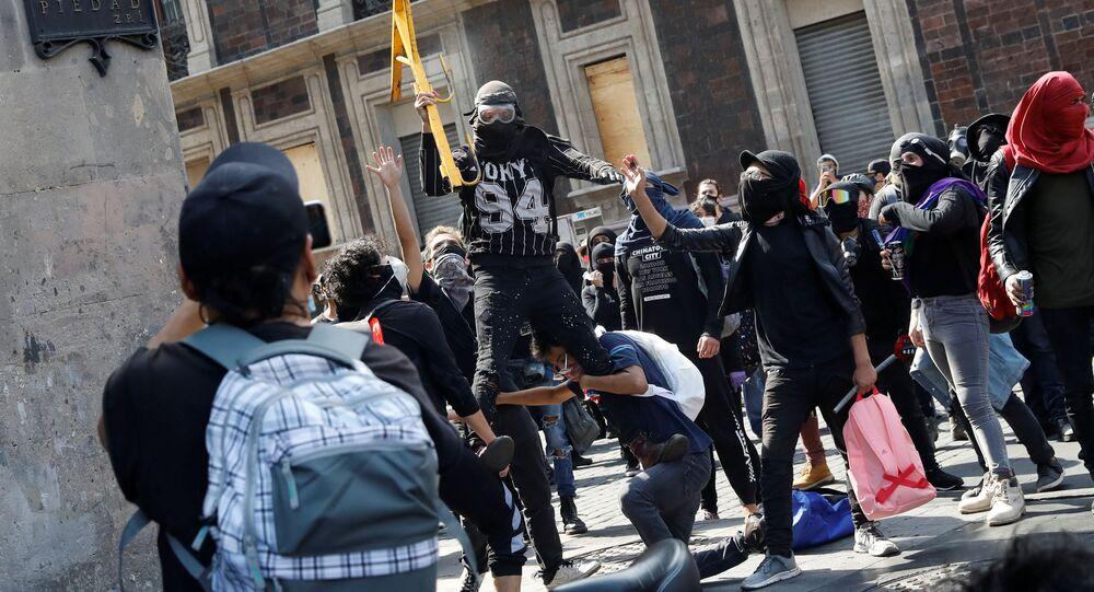 Protestas contra la violencia policial, Ciudad de México