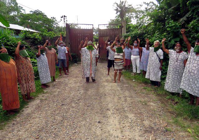 Indígenas Shipibo en Perú