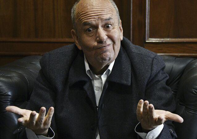 Arturo Murillo, ministro de Gobierno de Bolivia