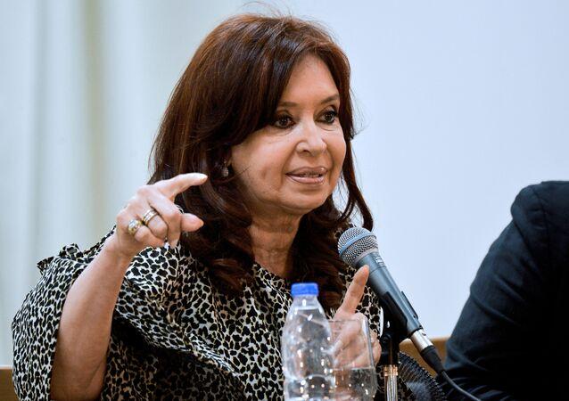Cristina Fernández de Kirchner, vicepresidenta argentina