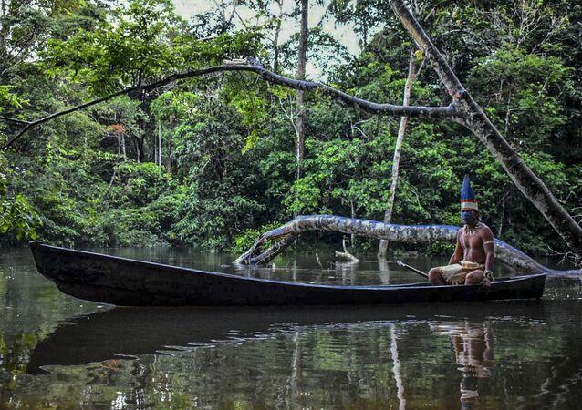 Indígena de Leticia, Colombia