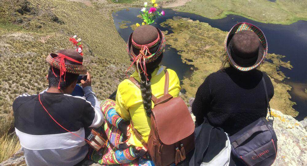 Indígenas peruanas (imagen referencial)