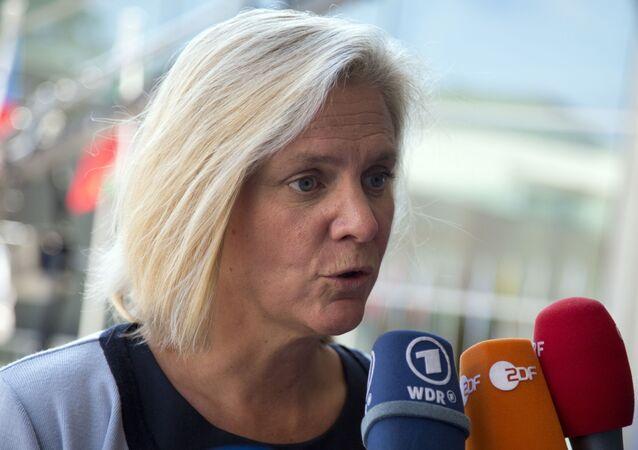 Magdalena Andersson, ministra de Finanzas de Suecia