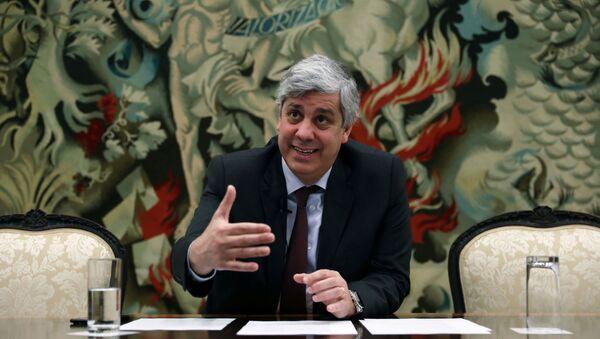 Mário Centeno, ministro de Finanzas de Portugal - Sputnik Mundo