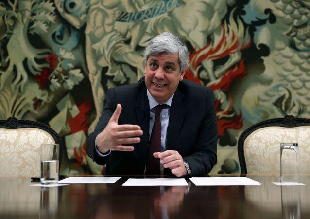 Mário Centeno, ministro de Finanzas de Portugal