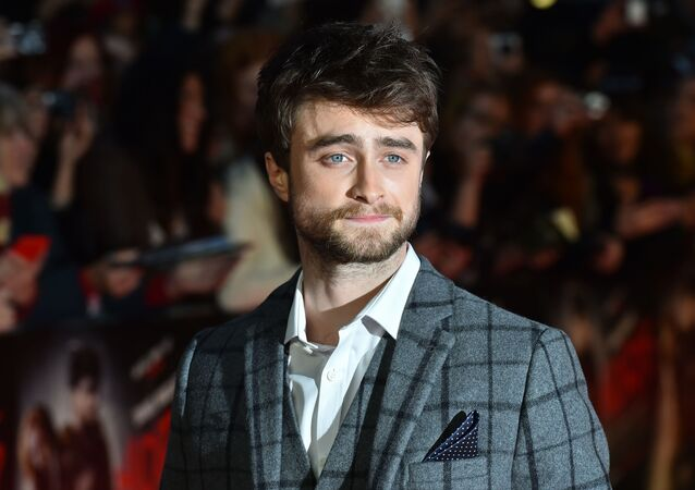 El actor británico Daniel Radcliffe