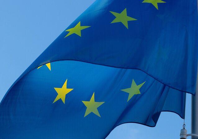 Bandera de la UE (imagen referencial)