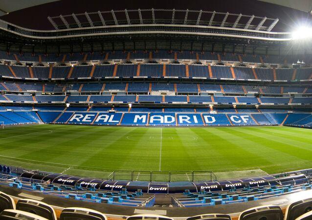 Estadio Santiago Bernabeu, del Real Madrid CF