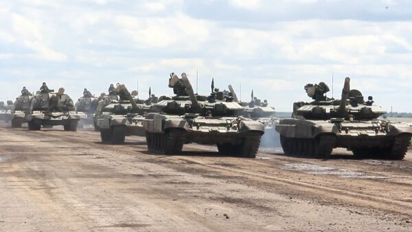 Comienza el entrenamiento del equipo militar antes del Desfile de la Victoria - Sputnik Mundo