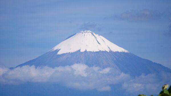 Volcán Sangay, Ecuador - Sputnik Mundo