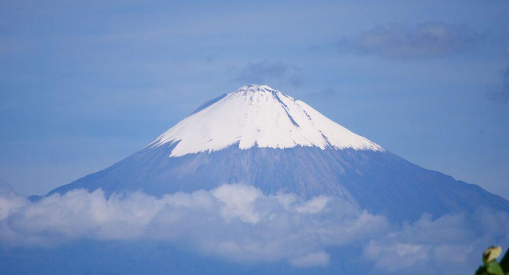 Volcán Sangay, Ecuador