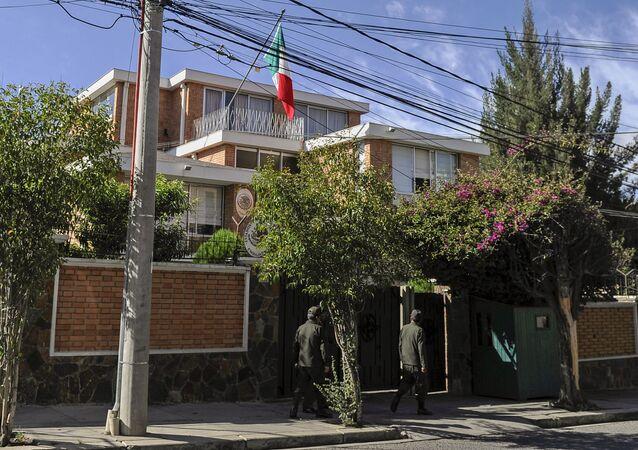 Embajada de México en La Paz, Bolivia