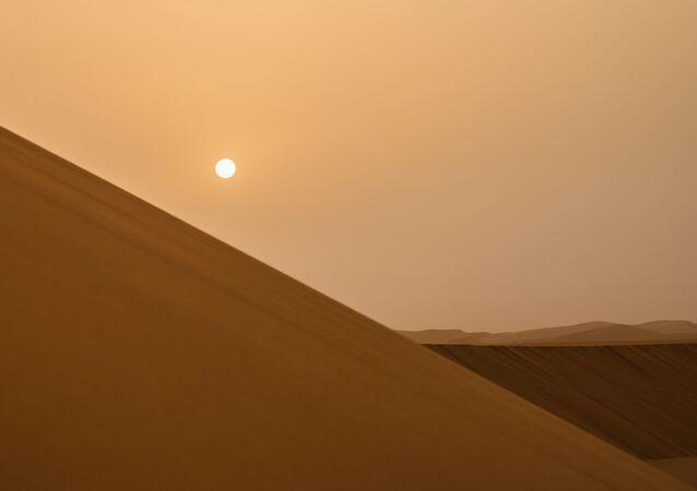 Un desierto en Arabia Saudí (archivo)