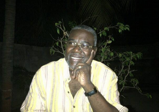 Emmanuel Cantave, secretario de Estado para Asuntos Sociales de Haití