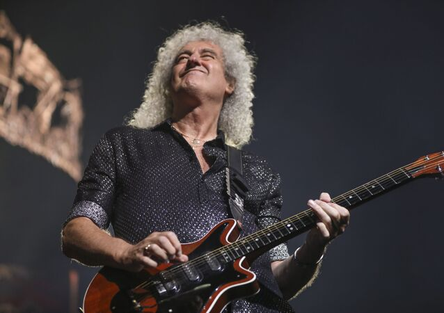 Brian May, guitarrista de Queen
