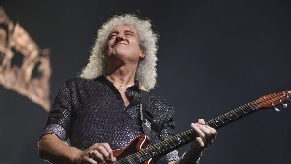 Brian May, guitarrista de Queen - Sputnik Mundo