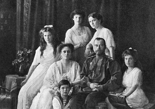 La familia Románov