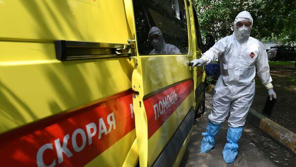 Ambulancia en Moscú - Sputnik Mundo