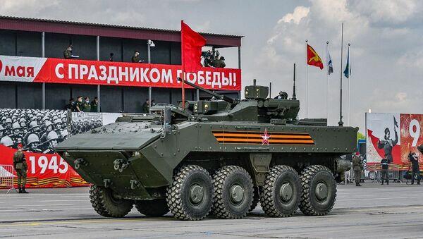 Así entrenan los militares para el Desfile de la Victoria en Rusia - Sputnik Mundo
