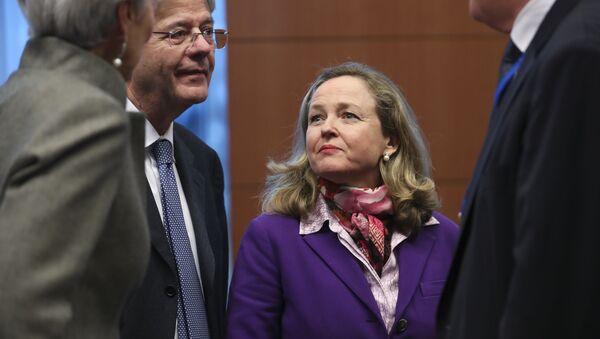 Nadia Calviño, ministra de Economía y vicepresidenta de España - Sputnik Mundo