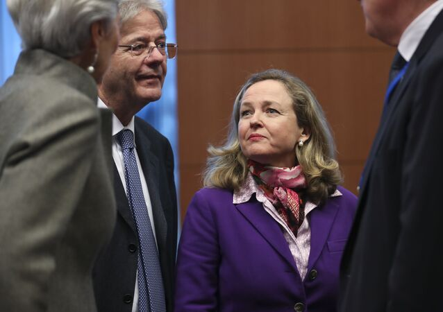 Nadia Calviño, ministra de Economía y vicepresidenta de España