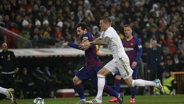 Partido Real Madrid-Barcelona (archivo) - Sputnik Mundo
