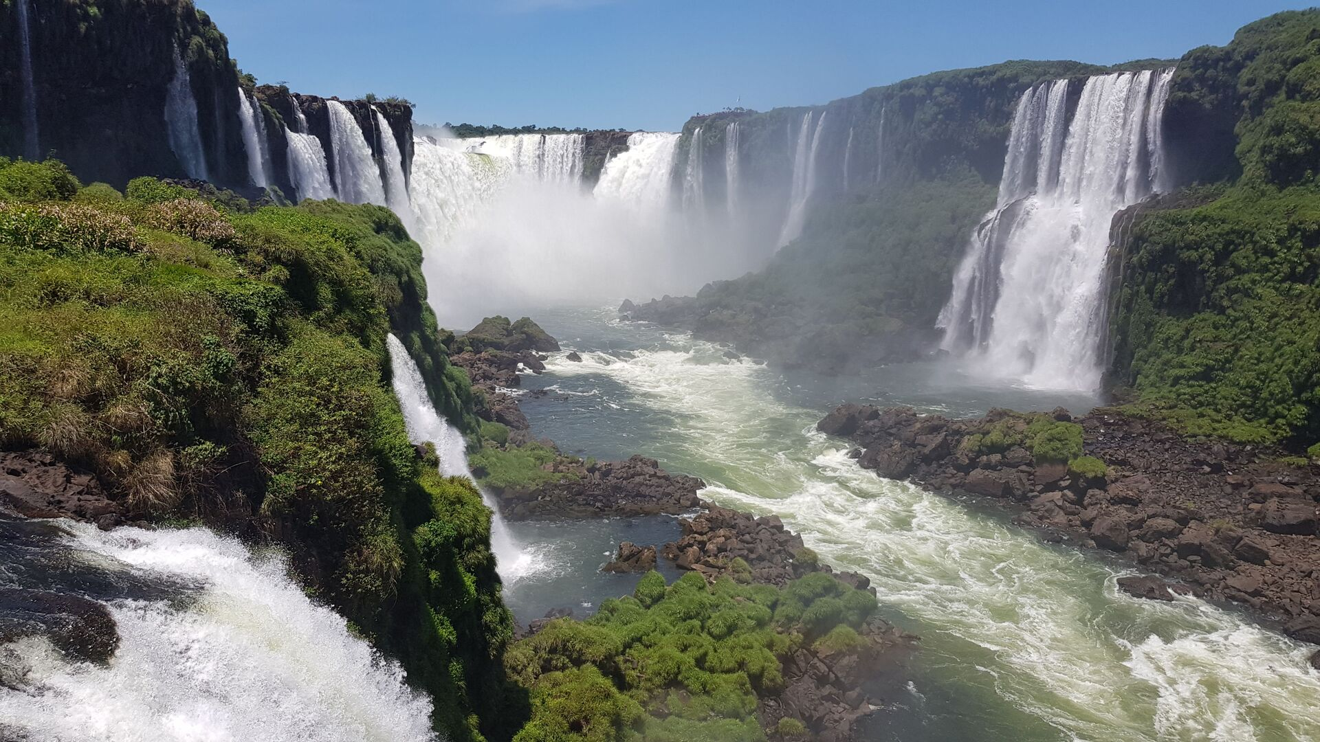 Las Cataratas del Iguazú - Sputnik Mundo, 1920, 27.08.2021