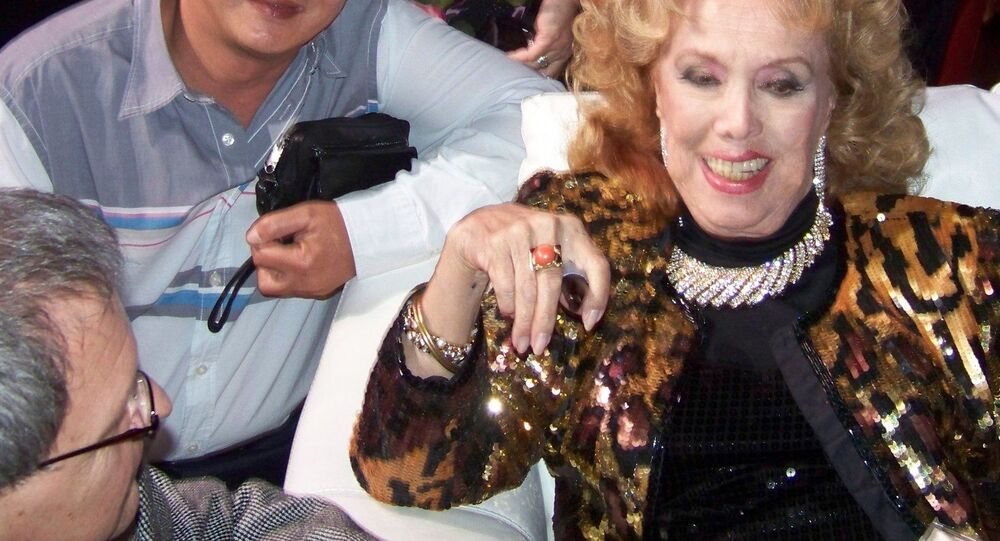 Rosita Fornés, la gran vedette de Cuba (archivo)