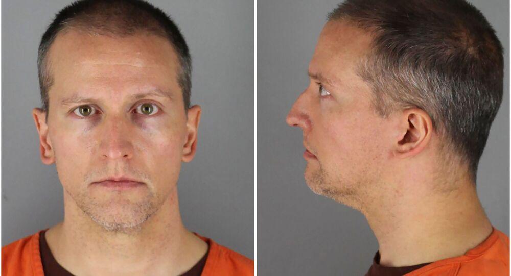 El oficial de policía Derek Chauvin