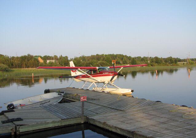 Un avión ligero Cessna (imagen referencial)